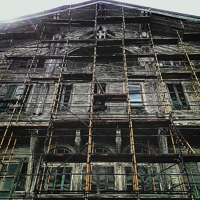 Old & Wise #architecture #old #italian #mansion #tarabya